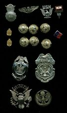 U.S. & INTERNATIONAL, GROUP OF (29) ASSORTED MEDALS/DECORATIONS/BUTTONS!
