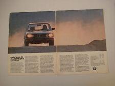 advertising Pubblicità 1984 BMW 524 TD TURBODIESEL
