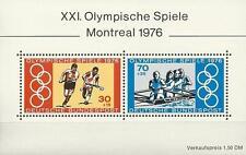 Bund Mi.Nr. Block 12** (1976) postfrisch/Olympische Sommerspiele, Montreal