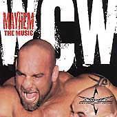 WCW Mayhem the music cassette