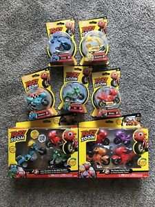 Ricky Zoom Lot Ricky Pop And Go / Family Pack / Maxwell And The Bike Buddies New