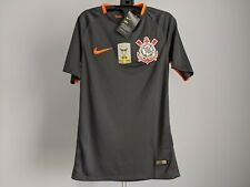 Nike Corinthians Player Issue Authentic Brazil 2017 Campeão Soccer Jersey - S