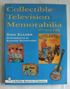 COLLECTIBLE TELEVISION MEMORABILIA Identification & Price Guide BOOK Zillner