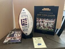 New listing Ny Giants Nfl Super Bowl Xlii Sports Illustrated Collector's Edition Set