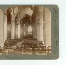 B78 U&U 565 St Giles Cathedral Interior, John Knox Prayed, Edinburgh Scotland D