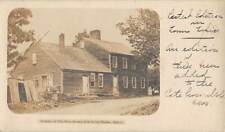 SPENCER, MA, ELIAS HOWE'S HOME SEWING MACH INVENTOR PMC REAL PHOTO PC used 1905