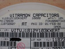 Condensador Cerámico 1812 serie 0.01uF 500V X7R 10% 10 un. £ 5.00