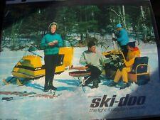 1966 Vintage Bombardier SKI DOO Snowmobile Brochure