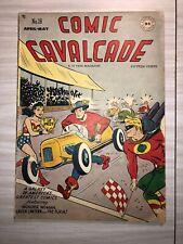 Comic Cavalcade #26, Wonder Woman, Flash, Green Lantern
