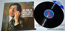 Beethoven Piano Sonatas No 4 OP 7 / 11 OP 22 Murray Perahia CBS 76995 Vinyl LP