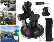 GoPro Suction Cup Car Mount Stand Mount Adapter + Storage Bag for Hero Cameras