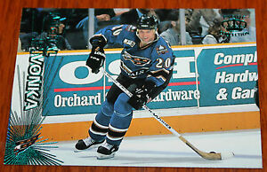 1997-98 Pacific Collection Hockey Card Michal Pivonka #285 Emerald Green (?)