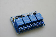 5V 4 Channel Relay Board Module for Arduino Raspberry Pi ARM AVR DSP PIC New UK