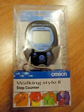 Omron Walking Style 2 II Step Counter Pedometer Blue/Black