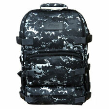 Nikon Camouflage Military D-SLR Camera Backpack Rucksack Tactical Bag (Black)