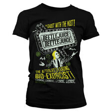 Officially Licensed Beetlejuice - Afterlife's Leading Bio-Exorcist Women T-Shirt