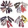 Bohemian Floral Print Scrunchie Hair Scarf Elastic Hair Bands Bow Hair Rope Ties