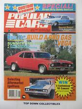 Popular Cars/ Custom Rodder  June 1983   Mike Mallory, '69 Nova