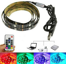 Sample 2M LED Strip Light 5050 3528 SMD Waterproof RGB Warm/Cool White 5V USB Fl