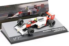 A.Senna Mclaren MP4/5 #1 Gangant Allemagne Gp F1 1989 1:43 Altaya