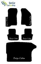 DODGE CALIBER TAPPETI AUTO tappetini con baule + 5decori +8 block compatibili