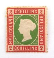 .HELIGOLAND 1867 ENGLISH OCCUPIED QV 2 Sch MINT HINGED. NICE GRADE.