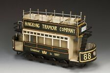 """Tin Plate Tram Car """"HK234"""" King & Country Streets of Old Hong Kong Scenic Dio"""