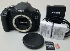 Canon EOS Rebel EOS 600D T3i 18.0MP Digital SLR DSLR Camera Body *GOOD/TESTED*