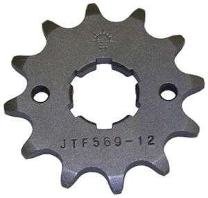 JT Sprockets Front Sprocket 12T For Kawasaki Yamaha 77-10 JTF569.12 JTF569 12