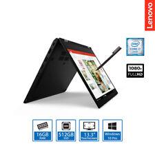 "Lenovo ThinkPad L13 Yoga 13.3"" Convertible Laptop Core i7-10510U 16GB, 512GB SSD"