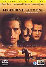 DVD *** LEGENDES D'AUTOMNE ** Brad Pitt Anthony Hopkins