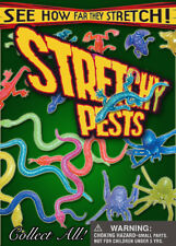 250 pcs Vending Machine $0.25/$0.50 Capsule Toys - Stretchy Pests