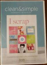 Clean & Simple Scrapbooking the Digital Kit Cd Rom 2007