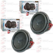 "2 x SOUNDSTREAM T5.124 12"" TARANTULA SERIES CAR DUAL 4-OHM SUBWOOFER 1000W RMS"