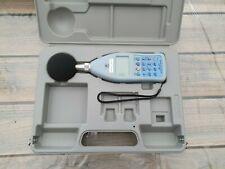Sound level Meter, Rion NL-21 class 2, measures in decibels / goffin meyvis
