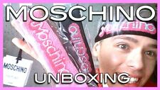SS15 Moschino Couture Jeremy Scott Knitted Pink Black Barbie Polyester Headband