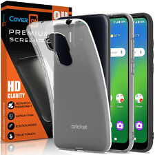 Fit Cricket Influence / AT&T Maestro Plus Case and Screen Protector Phone Cover