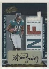 2006 Playoff Absolute Memorabilia /100 Marcedes Lewis #256 Rookie Auto