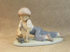 More details for lladro porcelain figurine 'all aboard' no. 7619 - excellent condition