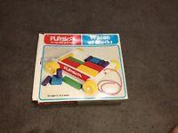 Playskool Wagon Of Blocks Empty Box