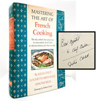 SIGNED Mastering the Art of French Cooking – FIRST EDITION – Julia CHILD 1961