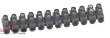 Módulo de domino Nylbloc 6mm² negro Legrand 34213