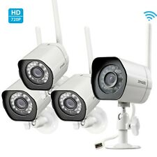 Zmodo 1080p WiFi Indoor/Outdoor Home Security Cameras with Night Vision *4-Pack*