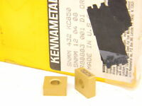 New Surplus 10pcs. Kennametal SNMM 432 Grade: KC850 Carbide Inserts Tin Coated