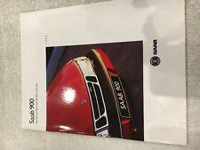 Saab 900 Brochure