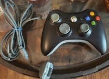 XBox 360 Black Wireless Controller With Plug And Play Charger