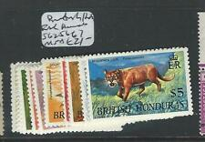 BRITISH HONDURAS (PP1308B)  ANIMALS SG256-67  MNH