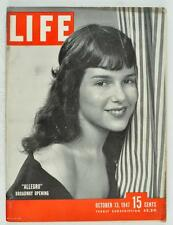 Vintage Life Magazine 1947 October 13 Broadway Picasso Karate Buffalo Cops