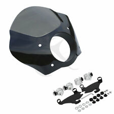 Gauntlet Fairing W/ Bracket Mounting Kit For Harley Dyna Super Glide Sportster
