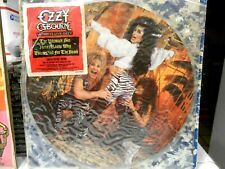 Ozzy Osbourne Picture Disc Vinyl 1986 Ultimate Live With Original Plastic Case